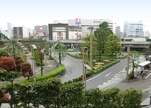 JR川口駅西